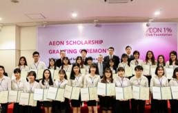 Lễ trao học bổng AEON 2017